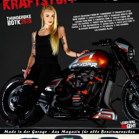 Kraftstoff Magazin Garage INK 01/2019