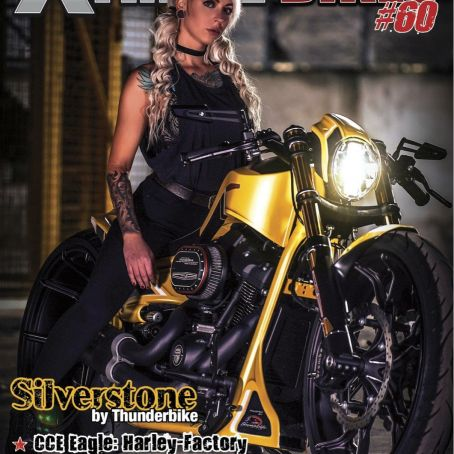 Xtreeme Bikes Magazin Spain Cover by BEN OTT for Thunderbike Harley-Davidson